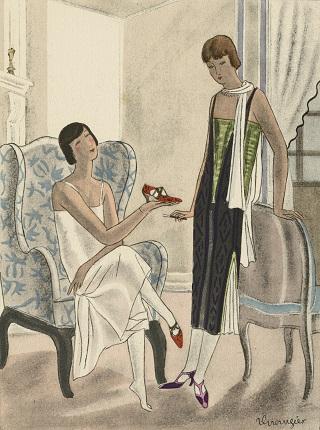 Выставка «Les Années folles. Фотография, костюмы и обувь из коллекции Shoe Icons»
